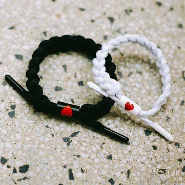 Vòng đeo tay cặp đôi Rastaclat Heart